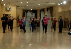 group class at Imperial ballroom