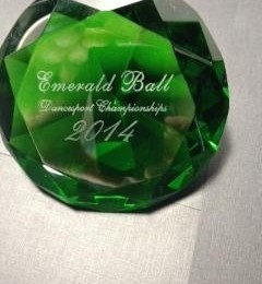 Emerald Ball Dance Sport Championship Award
