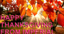 Happy Thanksgiving from imperial